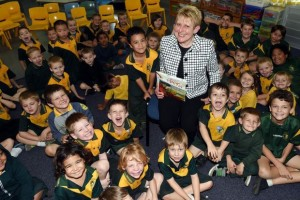 Mem Fox at Elizabeth Park Primary School